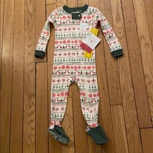NWT burts bee holiday one piece size 12 months